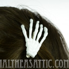 Skeleton Bones Hairclip