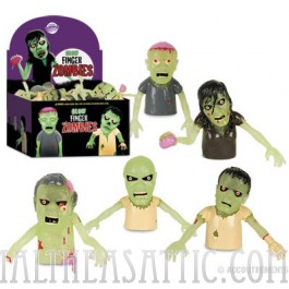 Glow Finger Puppet Zombies