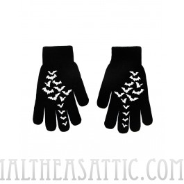Flying Bats Unisex Gloves