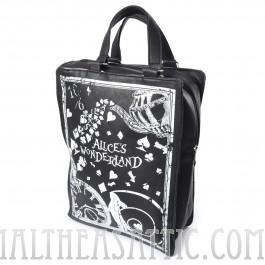 Alice in Wonderland Satchel Bag
