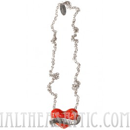 Broken Heart Necklace