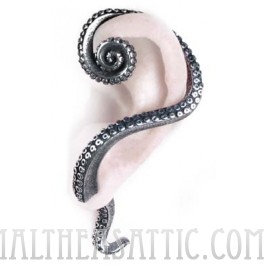 Kraken's Reach Octopus Tentacle Ear Wrap Stud