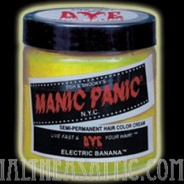 Manic Panic Electric Banana Semi Permanent Hair Dye