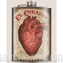El Corazon flask