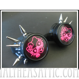 Pink Hello Kitty Cyber Gasmask Goggles