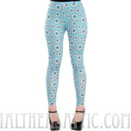 Optical Delusion Eyeball Leggings