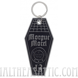 Morgue Motel Horror Keychain