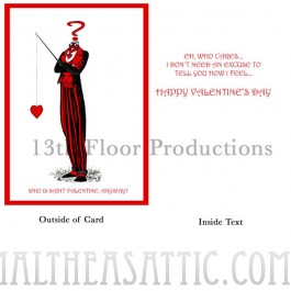 Who is St. Valentine Card