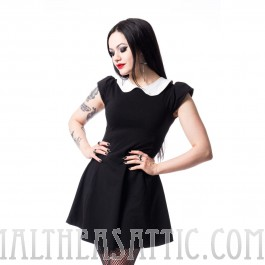 Pan Collar Suicide Dress