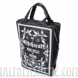 Witchcraft Magic Spells and Potions Book Bag