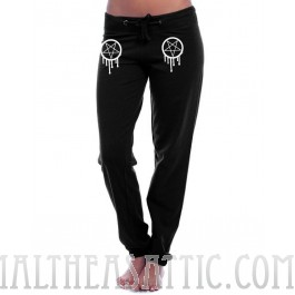 Relaxed Fit Pentagram Sweatpants