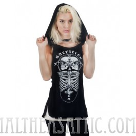 Sacrifice Witch Hood Tank Top