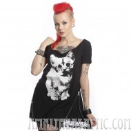 Evil Kitty Cat Top
