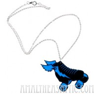 Roller Derby Skate Necklace