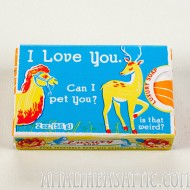 I Love You, Can I Pet You, Is That Weird? Soap