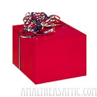 Red Gloss Gift Wrap