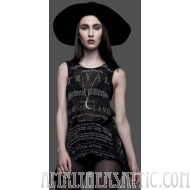 Lip Service Sleeveless Witch Tryal Knit Top