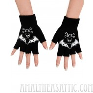 Fingerless Bat Gloves