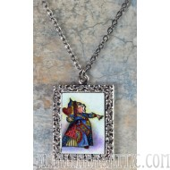 Alice in Wonderland The Red Queen Pendant