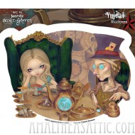 Alice and the Mad Hatter Sticker