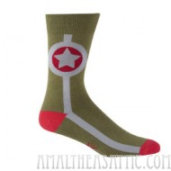 Army Star Socks