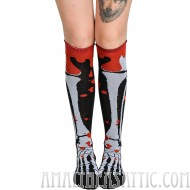 Too Fast Roll Top Blood and Bone Socks