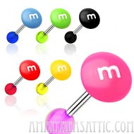 Barbell w/ UV M&M Top