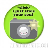 Stole Your Soul Metal Button