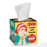Contagion Suppressors Tissue Box