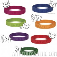 7 Deadly Sins Wristbands