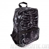 Rose Ribcage Backpack School Bag