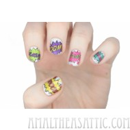 Comic Book Nail Wraps