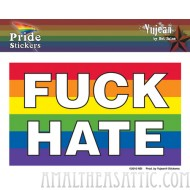 Fuck Hate Sticker