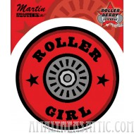 Enginehouse 13 Roller Girl Roller Derby Sticker