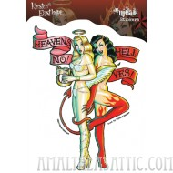 Kirsten Easthope Heaven's No, Hell Yes! Pinup Sticker