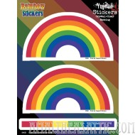 Rainbow 6x8 Sticker Set