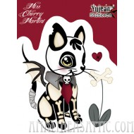 Miss Cherry Martini Dead Kitty Sticker