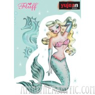 Fluff Mermaid Blonde sticker