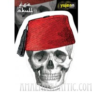 Cabinet of Curiosities Fez Skull-Face Sticker