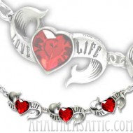 Love Life Rockabilly Bracelet