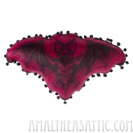 Bat Attack Bat Shaped Pillow