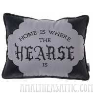 Canvas Hearse Pillow