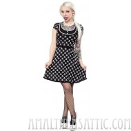 Sourpuss Jolly Roger Patsy Dress