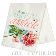Clean Up Your Mess Handtowel