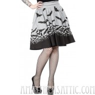 Sourpuss Spooksville Bats Swing Skirt