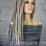 Synthetic Clip-In Crochet Dreadlocks Set 18""