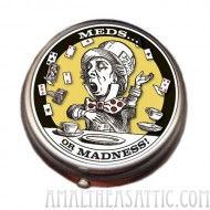 Alice in Wonderland Mad Hatter Pill Box