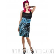 Ravens of the Damned Corset Belt Dress