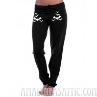 Relaxed Fit Bat Sweatpants
