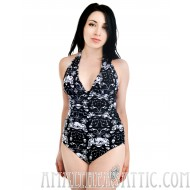Baroque Skulls Monroe Swimsuit